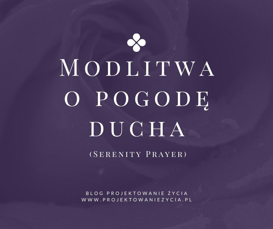 modlitwa o pogodę ducha